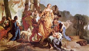 Giovanni Battista Tiepolo - 摩西的发现