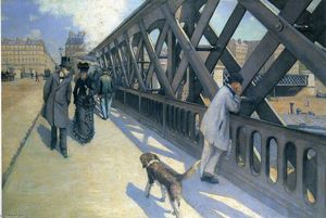 Gustave Caillebotte - 乐 蓬 德 L'Europe