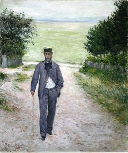 Gustave Caillebotte - 在海边