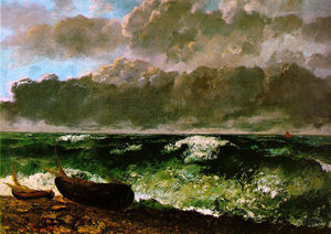 Gustave Courbet - 惊涛骇浪