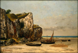 Gustave Courbet - 海滩诺曼底