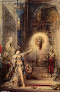 Gustave Moreau - 幽灵
