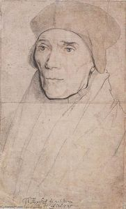 Hans Holbein The Younger - 肖像主教约翰·费舍尔