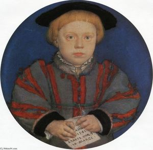 Hans Holbein The Younger - 亨利肖像布兰登