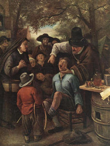 Jan Steen - Quackdoctor