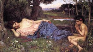 John William Waterhouse - 听我的甜喉管