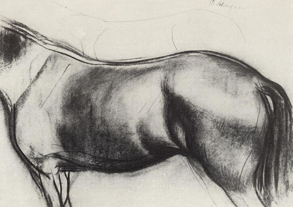 马素描铅笔画速写