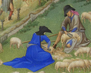 Limbourg Brothers - JUILLET羊剪绒