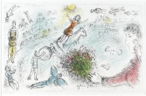 Marc Chagall - 心灵 的  马戏团