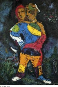 Marc Chagall -  的 走路