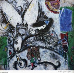 Marc Chagall - 大 马戏团