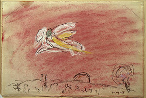 Marc Chagall - 'Study 到 ''Song 的 歌曲 IV'''