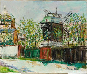 Maurice Utrillo - 煎饼磨坊
