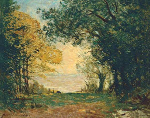 Maxime Emile Louis Maufra - BEG-MEIL黄昏