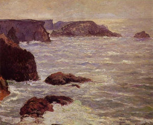 Maxime Emile Louis Maufra - 海岸Goulphar