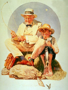 Norman Rockwell - 钓鱼