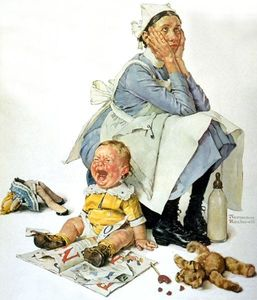 Norman Rockwell - 保姆