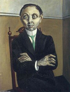 Otto Dix - 肖像 of Paul null . Schmidt