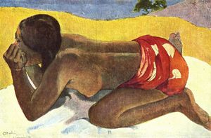Paul Gauguin - 单独
