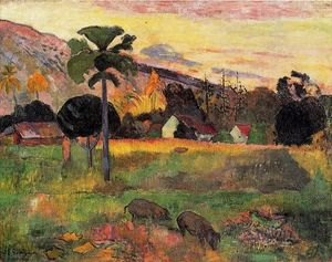 Paul Gauguin -  来  这里