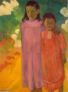 Paul Gauguin - 两姐妹