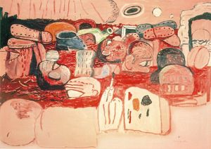 Philip Guston - 洪水II