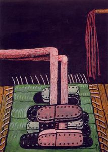 Philip Guston - 绿地毯