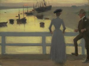 Philip Wilson Steer -  的 桥