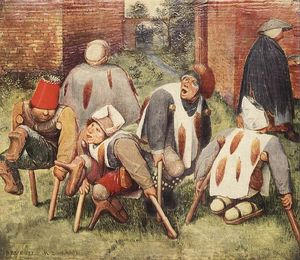 Pieter Bruegel The Elder - 乞丐