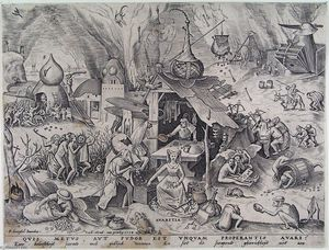 Pieter Bruegel The Elder - 贪心