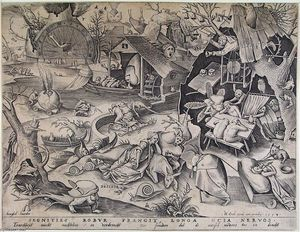 Pieter Bruegel The Elder - 怠惰