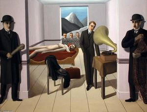 Rene Magritte - 该威胁 刺客