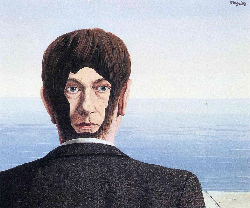 the glass house 马格利特的超现实主义绘画