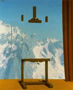 Rene Magritte - 呼叫 的  峰