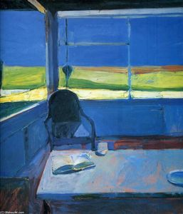 Richard Diebenkorn -  室内与  书