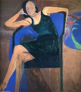 Richard Diebenkorn - 坐在女人