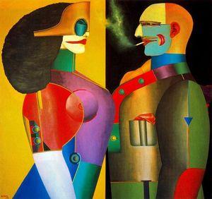 Richard Lindner -  的 夫妻