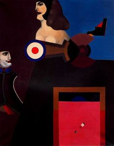Richard Lindner - Napoleon Still 生命