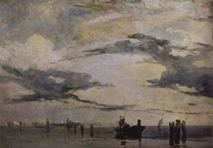 Richard Parkes Bonington - 亚得里亚海海岸