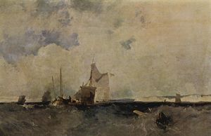 Richard Parkes Bonington - 海景