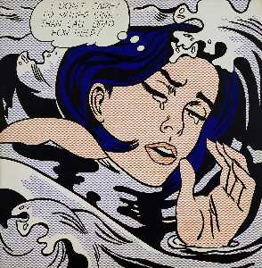 Roy Lichtenstein - 溺水女孩