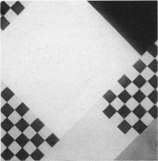 计数器组成XVII, 油画 通过 Theo Van Doesburg (1883-1931, Netherlands)