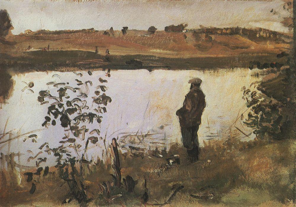 谢洛夫油画风景