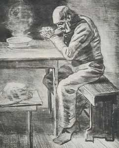Vincent Van Gogh - prayer`  前 餐