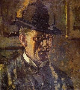 Walter Richard Sickert - 少年铅 自我 肖像