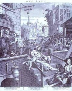 William Hogarth - 金酒巷