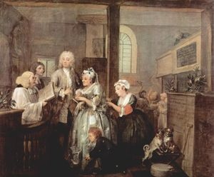 William Hogarth - 婚姻