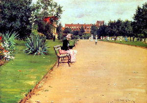 William Merritt Chase - 公园 02