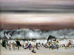 Yves Tanguy - 多余的丝带