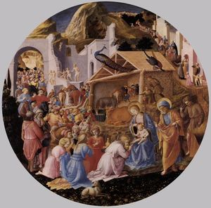 Fra Angelico - 贤士来朝